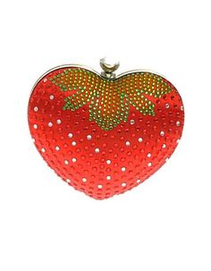 The Look for Less: Judith Leiber Strawberry Purse - The Budget Babe