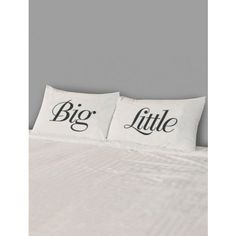Big/Little Pillow Case Set - Pillows - Bedding - Dorm + Apt