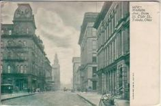Madison Ave. from St. Clair St. between 1901 and 1907
