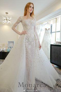 Spring Wedding, Lace Wedding, Dream Wedding, Wedding Dresses, Zuhair Murad Bridal, Kardashian Wedding, Couture, Instagram, Fashion