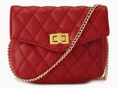 Forever 21 quilted crossbody, $19.80 at forever21.com http://www.ivillage.com/cheap-bags-purses-crossbody-hobo-clutch-satchel/5-a-545054