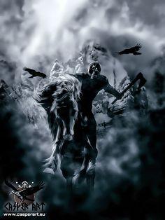 Viking warrior by thecasperart on DeviantArt