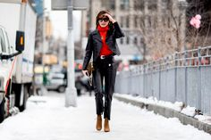 Street Style at New York Fashion Week Fall Winter 2017-2018: Part 3 :: The Wonderful World of Fashion
