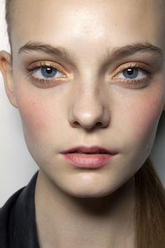 Minimal + Classic: Nimue Smit backstage at Sportmax Spring 2011