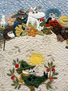 CRIB QUILT: Moomin