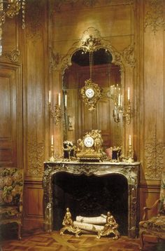 171 best French Boiserie And Carved Paneling images on Pinterest in ...