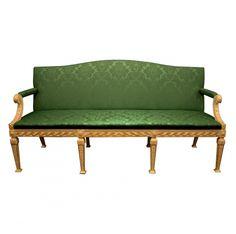 Giltwood William Kent style sofa
