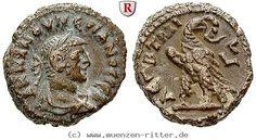 RITTER Ägypten, Alexandria, Numerianus, Tetradrachme, Adler #coins