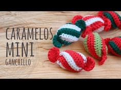 Learn Hot to Crochet the Cutest Mini Candy Tutorial – Design Birdy Mini Christmas Ornaments, Easy Christmas Crafts, Christmas Minis, Christmas Candy, Christmas Angels, Crochet Ornaments, Christmas Crochet Patterns, Holiday Crochet, Crochet Snowflakes