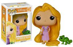 Amazon.com: Funko POP Disney Tangled: Rapunzel & Pascal: Funko Pop! Disney:: Toys & Games