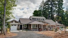 Port Orchard Custom Home - traditional - exterior - seattle - by Don Larkin, Architect, AIA, PLLC
