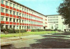karl-marx-stadt (chemnitz) - reichenhälber str. / technische hochschule by hansaviertel, via Flickr