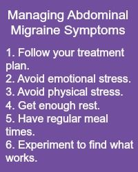 Read here about the Confusing Symptoms Of Abdominal Migraines and some tips on how to manage it all. www.MigraineSavvy.com come back and visit us as often as you wish.
