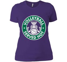 Volleyball Served Hot T-Shirt - Great Volleyball Player Tee