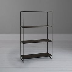 Buy Content by Terence Conran Fusion Shelf, Tall from our Bookcases, Shelving Units & Shelves range at John Lewis & Partners. Tall Shelves, Terence Conran, Living Spaces, Living Room, Shelving, Family Room, Bookcase, Told You So, Minimalist
