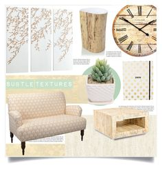 """""""Subtle Textures"""" by tammara-d ❤ liked on Polyvore featuring interior, interiors, interior design, home, home decor, interior decorating, Balmain, West Elm, Cyan Design and Zentique"""
