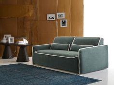 Upholstered fabric sofa bed LULÙ by Ditre Italia | design Stefano Spessotto, Lorella Agnoletto