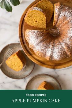 This Apple Pumpkin Cake is going to make all our pumpkin spice dreams come true! The grated apples add moisture and a subtle apple flavor. Flourless Chocolate Brownies, Chocolate Brownie Cookies, Apple Recipes, Sweet Recipes, Cake Recipes, Easy Cakes To Make, How To Make Cake, Pumpkin Puree, Pumpkin Spice