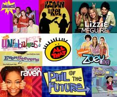 Disney Channel and Nick back when they were worth watching.