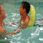 David Blaski has invented an apparatus that makes up for the loss of muscle tone commonly seen in cerebral palsy patients, causing legs to crisscross in water. Welcome To Holland, Adapted Physical Education, Adapted Pe, Aquatic Therapy, Adaptive Sports, Nursing Care, Cerebral Palsy, Muscle Tone, Occupational Therapy