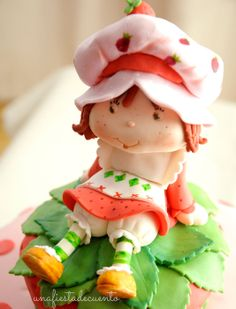 Strawberry Shortcake - by LaTartautora @ CakesDecor.com - cake decorating website