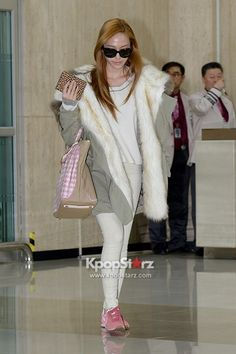 Girls Generation Airport Fashion March 6 2013
