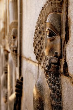 """pickledesign: """" This looks like an ancient Babylonian relief, I wold love to know more about it. """" Persepolis, Unesco World Heritage.. Persepolis"""