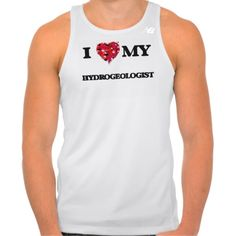 I love my Hydrogeologist New Balance Running Tank Top Tank Tops