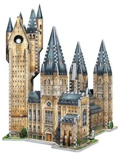 Playroom Entertainment Wrebbit - 3D Puzzle Harry Potter Hogwarts Astronomy Tower, 860pc