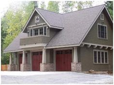 HousePlans.net has more than 250 garage and carport plans, including many beautiful carriage house designs and garages with loft apartments.