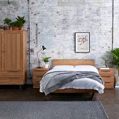 Buy John Lewis & Partners Calia Bed Frame, King Size from our Beds range at John Lewis & Partners. Free Delivery on orders over Bedroom Sets, Home Decor Bedroom, Bedrooms, Decor Interior Design, Interior Design Living Room, Room Interior, Wells House, Bedroom Furniture Online, Beautiful Bedroom Designs