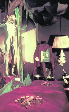 """SALVADOR DALI'S 'DREAM OF VENUS"""" funhouse pavilion for adults only. At The 1939 World's Fair. from the book Salvador Dali's Dream of Venus: The Surrealist Funhouse by Ingrid Schaffner with Photos by ERIC SCHAAL. 2002 (please follow minkshmink on pinterest)"""