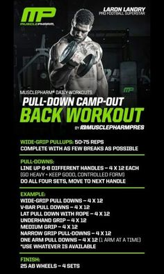 Back/ all Pulldowns