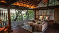 Chitabe Camp | Alojamiento de Lujo en el Delta del Okavango, Botswana | Enkosi Africa Delta Del Okavango, Safari, Camping, Patio, Outdoor Decor, Home Decor, Hotels, Campsite, Decoration Home