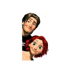 Gallery For > Rapunzel Punk Edit ❤ liked on Polyvore featuring disney