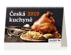 Stolní kalendář ČESKÁ KUCHYNĚ 2019