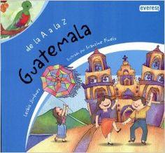 31 Days of Spanish Books for Kids-De la A a  la Z (Country Books in Spanish)