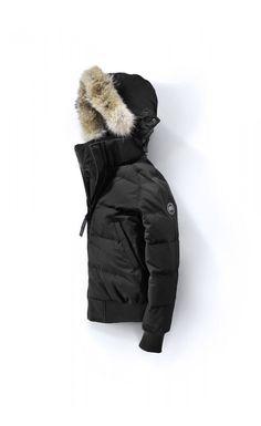 Canada goose elrose parka black label
