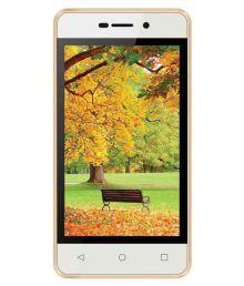 Intex Aqua 4G Strong 8GB Champagne Gold