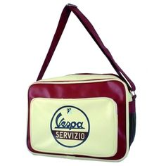 Fashion royalty – this Vespa laptop bag has space for all your bits and bobs.