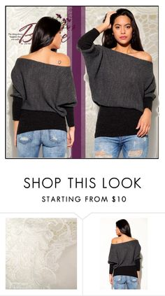"""""""KNIT FASHIONABLE 12"""" by blagica92 ❤ liked on Polyvore featuring knitFashionable"""