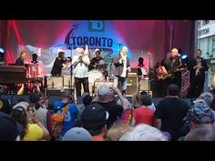 The Legendary Downchild Blues Band on June 2019 On Bloor Street at The Toronto Jazz Festival with Dan Ackroyd Blue Band, Dan, Blues, Concert, Concerts
