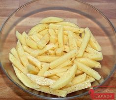 domacihranolky1 Baby Food Recipes, Snack Recipes, Healthy Recipes, Cooking French Fries, Russian Recipes, Diy Food, Apple Pie, Side Dishes, Food And Drink