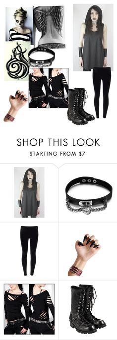"""""""Creepypasta Maya the Skeleton Wolf"""" by xxbeautifulmoonlightxx ❤ liked on Polyvore featuring beauty and Comme des Garçons"""