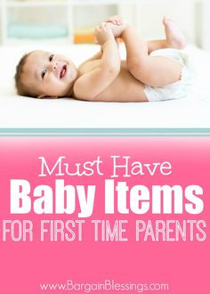 Shopping for a new baby can be overwhelming! Here are some of the top must have baby items that all first time parents need! #baby #mom #firsttimeparent
