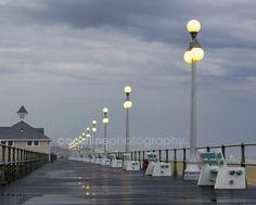 Jersey Shore Prints, Art Print, Beach Home Decor, Rain Photography, Storm Photography, New Jersey, New Jersey Beaches, NJ Beaches