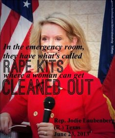 This woman obviously does not know what a rape kit actually is. This is vile. And they just keep talking...