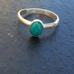 Turquoise Ring Size 8 by GGsGems16 on Etsy