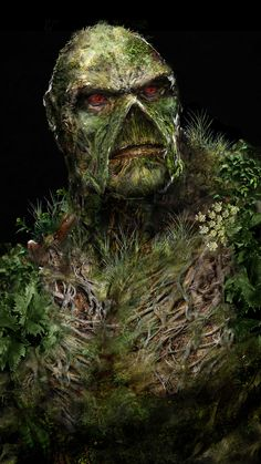 Swamp Thing's Yearbook Snap by uncannyknack —-x—-  More: |Comics|Random|CfD Amazon.com Store|