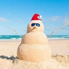"""Trying to plan a vacation around the holidays? Don't forget to check the office rules, both spoken and unspoken -- if you're the most junior person on the team you may not be ABLE to take time off around the holidays, or you may have """"reserve"""" your spot e Sand Snowman, Orlando Holiday, Australian Christmas, Aussie Christmas, Christmas Music, Christmas Makes, Christmas Lunch, Family Christmas, Christmas Shopping"""